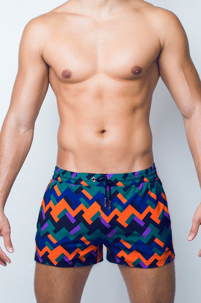 S50 SWIM SHORTS - EUHEDRAL SAFARI