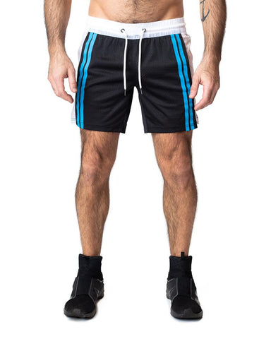 CONTACT RUGBY SHORT - BLACK/WHITE