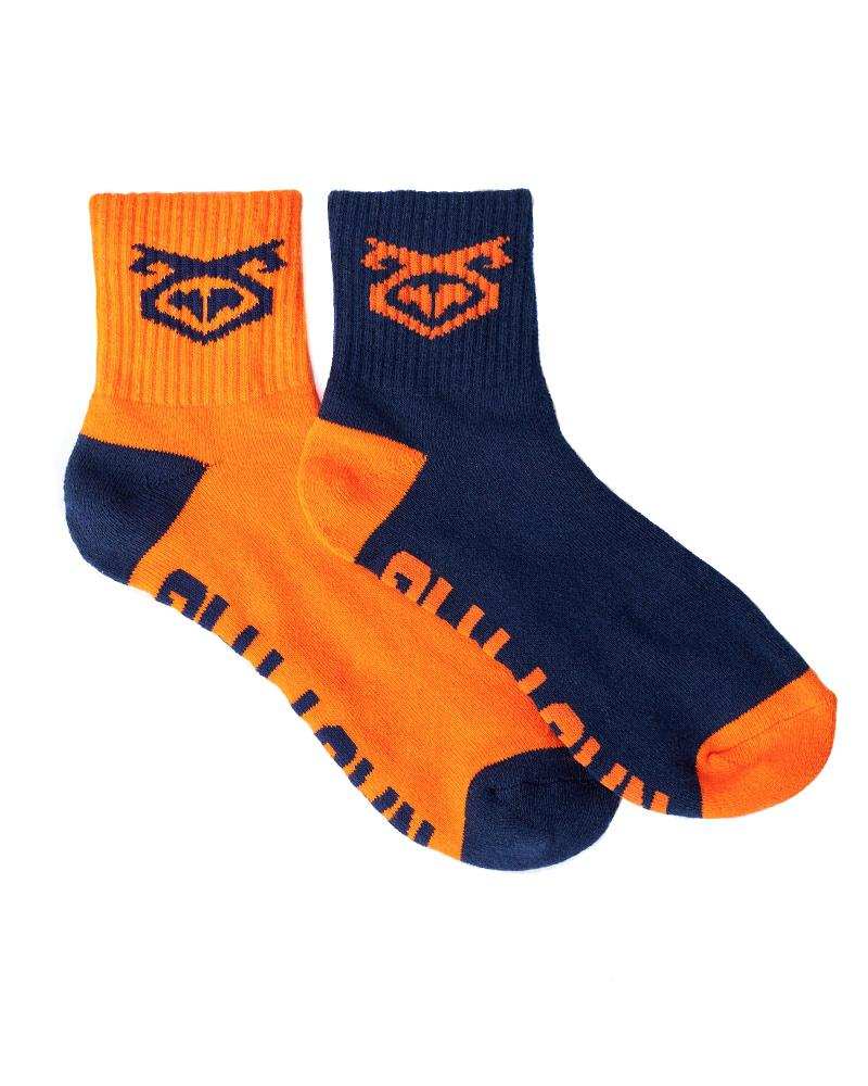 FLASHER SOCK 2-PACK - NAVY/ORANGE + ORANGE/NAVY