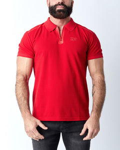 NP CREW POLO - RED