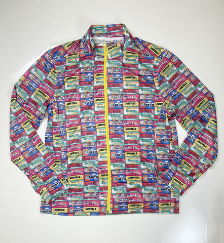 BUBBLE GUM JACKET - PRINTED PINK