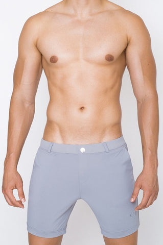 S61 BONDI SHORTS (LONG) - ALLOY