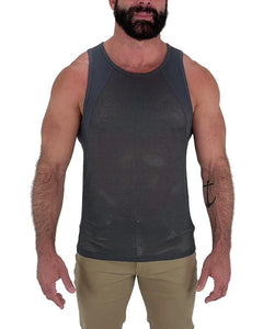 CONVOY TANK TOP - GREY
