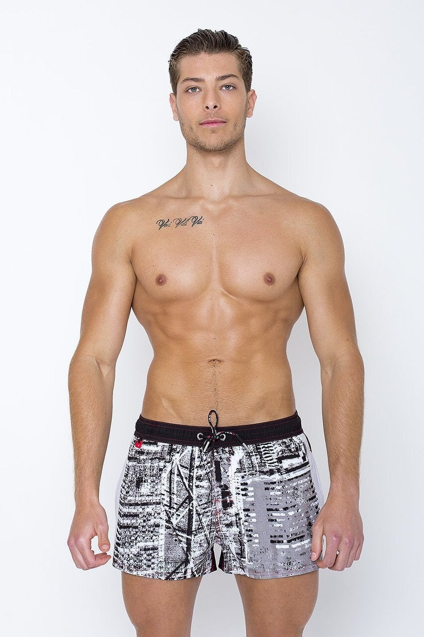 BANGKOK SWIM SHORT - BLK