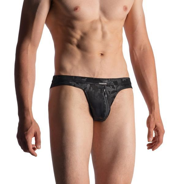 M950 ZIPPED BRIEF - BLK