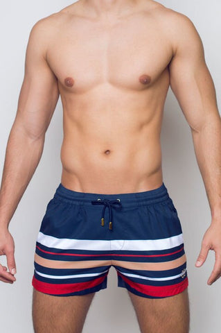 S50 HORIZON SWIM SHORTS - NAVY