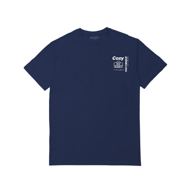 WRAPPED UP TEE - NAVY