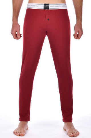 LP10 CORE LOUNGE PANTS - CABERNET