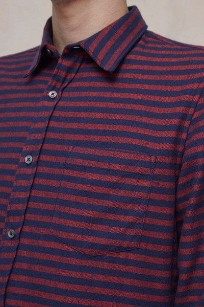Flame Flannel Stripe