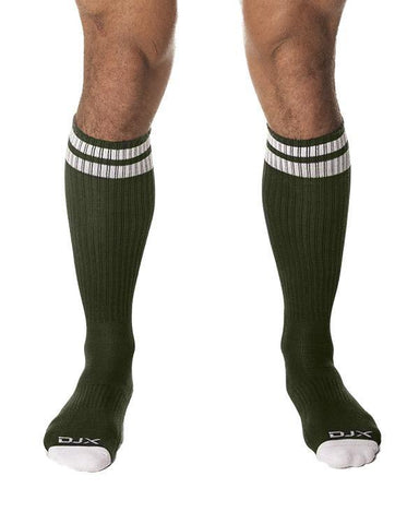 DJX TROUGH SOCKS - ARMY