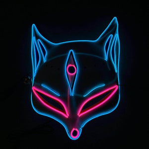 COSPLAY CAT NEON GLOW MASK
