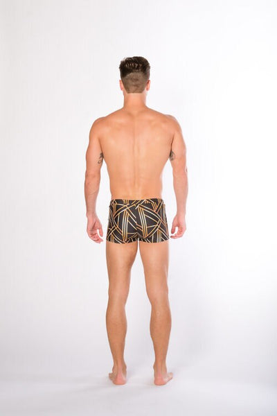 AG BOYSHORT - ART DECO BLK
