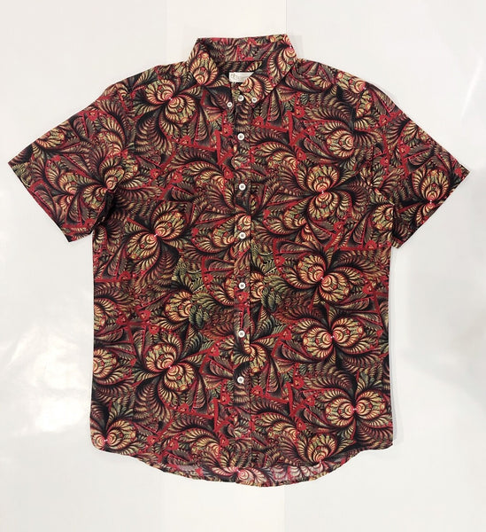 ACID PALM SHIRT - RED