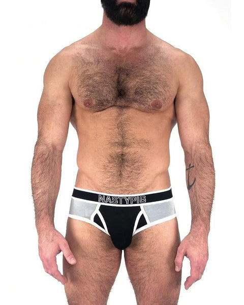BASE BRIEF - BLK-GRY