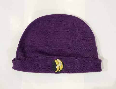 BANANA BEANIE - PURPLE