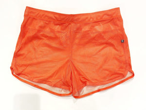 MESH RETRO SHORTS - ORANGE