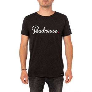 POUDREUSE (POWDERY) TEE - GRY