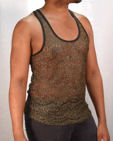 Royal Lace Stringer - Metallic Gold