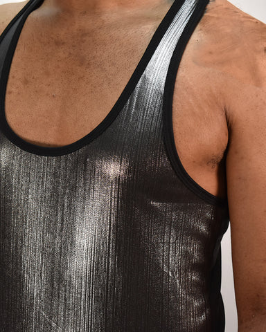 Shield Stringer Tank - Gunmetal