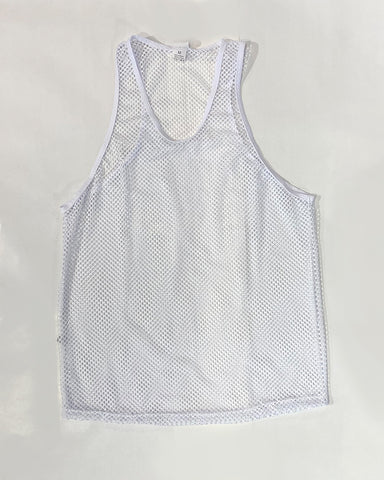 MINI FISHNET TANK - WHT
