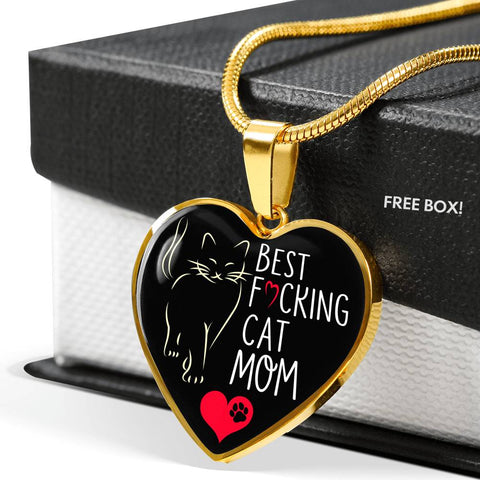Can Mom Love Shaped Locket Adjustable Necklace