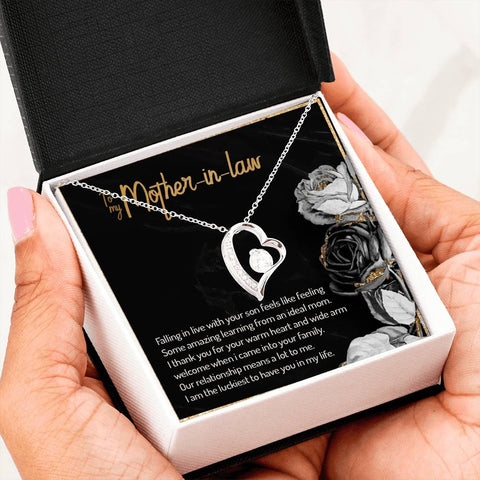 Loving Mother-in-law Forever Love Necklace