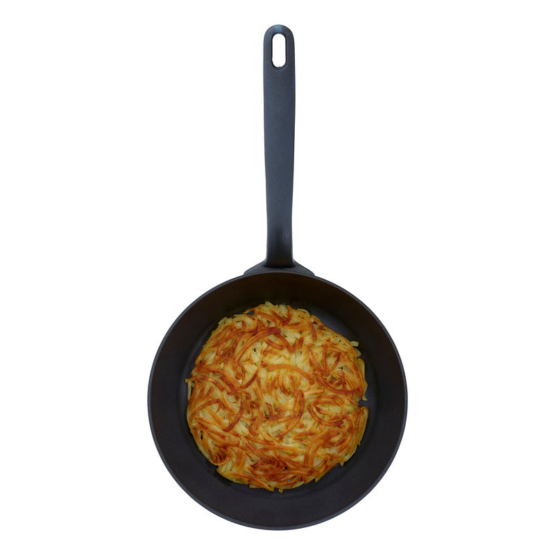 Black Star Iron Frying Pan 24cm - CLNRY Cookware