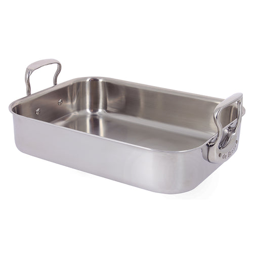 Affinity 5-ply Stainless Steel Roaster 35 x 25cm - CLNRY Cookware