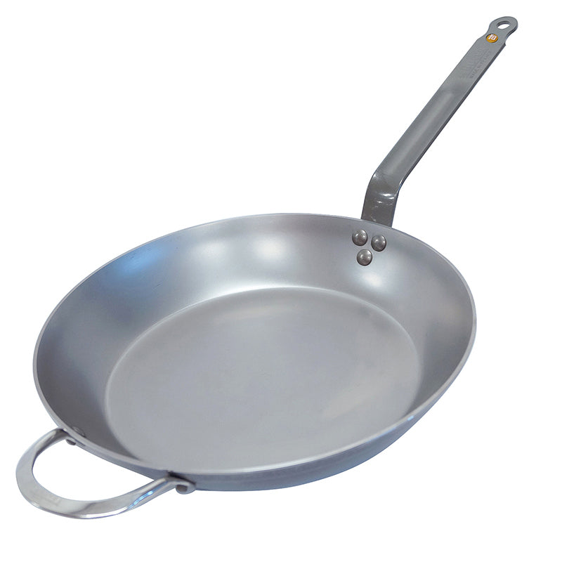 De Buyer Mineral B Element Carbon Steel Frying Pan 32cm - CLNRY Cookware