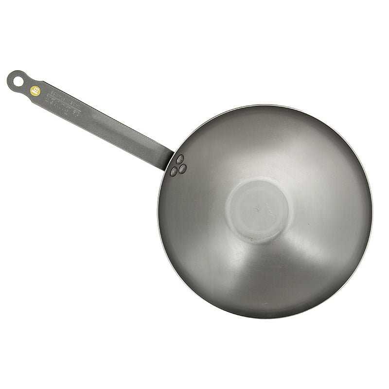 De Buyer Mineral B Element Carbon Steel Wok 28cm - CLNRY Cookware