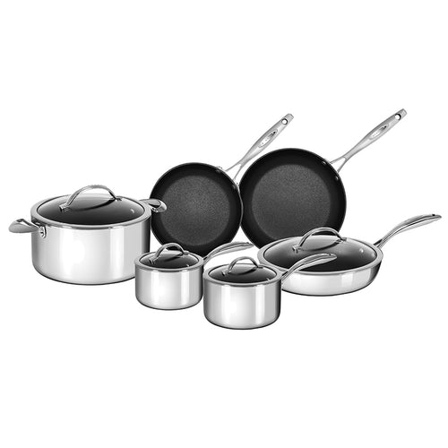 Scanpan HaptIQ 10pc Non-Stick Cookware Set - CLNRY Cookware
