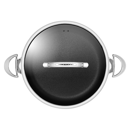 Scanpan HaptIQ Chef Pan With Lid 32cm - CLNRY Cookware