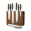 Epicure 6 Piece Magnetic Knife Block Set - CLNRY Cookware