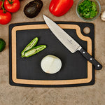"Epicurean Gourmet Series Chopping Board Slate/Natural 17.5"" x 13"" - CLNRY Cookware"