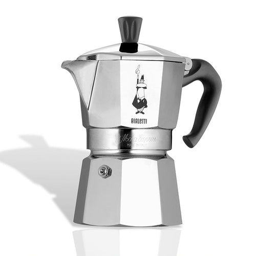 Bialetti Moka Express Espresso Maker (3 Cup) - CLNRY Cookware