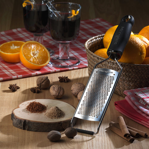 Microplane Gourmet Fine Grater Black - CLNRY Cookware