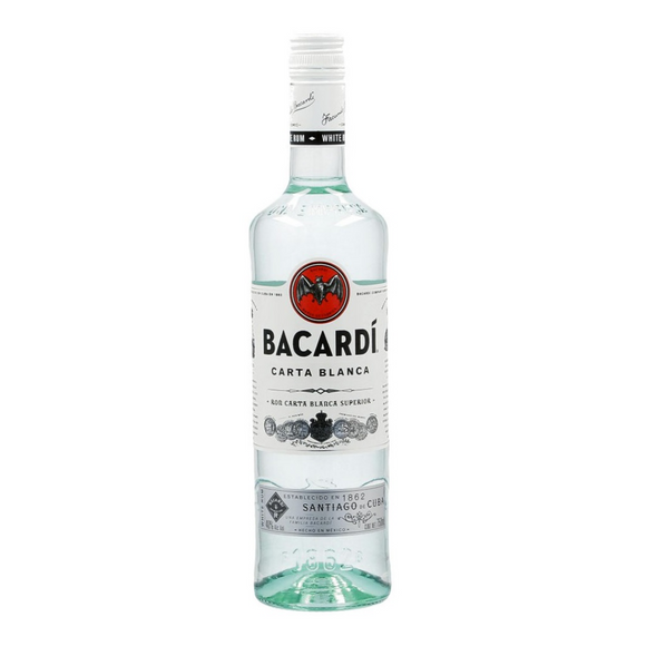 Ron Bacardi Blanco 750ml - GOURDOM