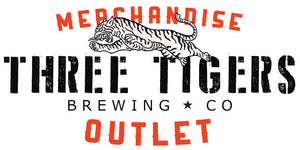 THREE TIGERS BREWING MERCHANDISE OUTLET