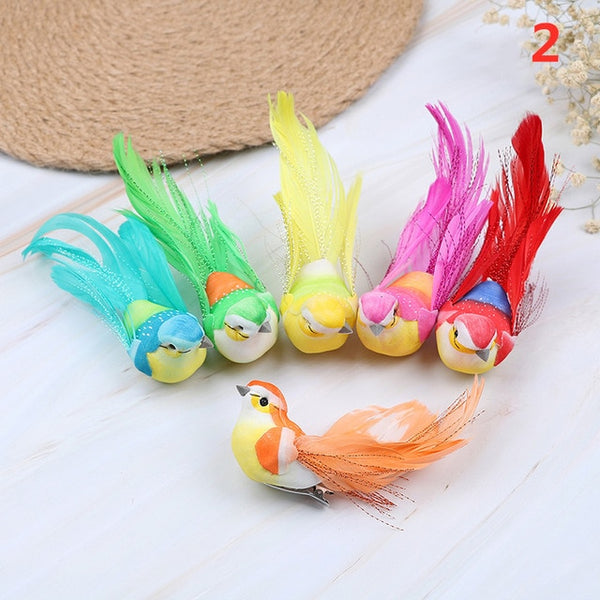 Cute Artificial Bird Foam