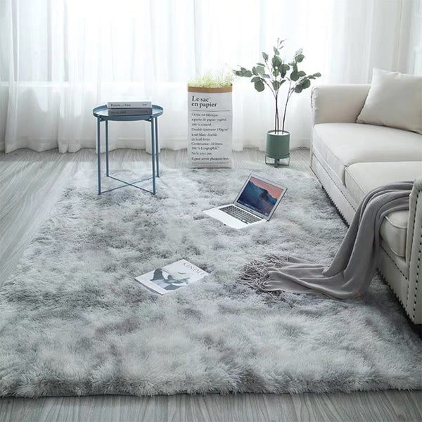 Super Soft Modern Bedroom Area Rug Floor Carpet
