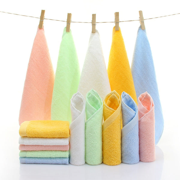 Bamboo Fiber Small Square Towel