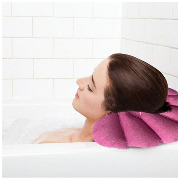 Soft Home Spa Inflatable Bath Pillow Cups