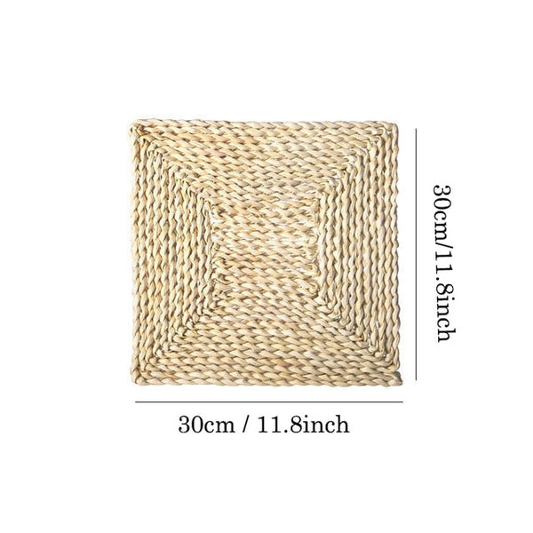 Natural Corn Fur Woven Pad