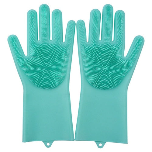 Multifunction Silicone Cleaning Gloves