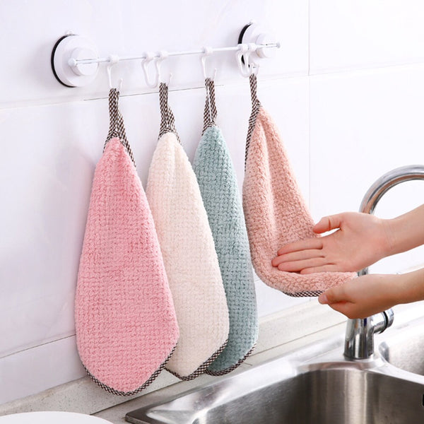 Hand Cleaning Towel Square Dishcloths