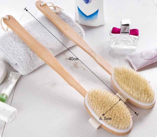 Shower Brush Natural Bristle