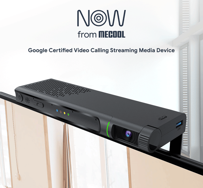 New Released: MECOOL Now , Google Certified Video Calling Streaming Media Device
