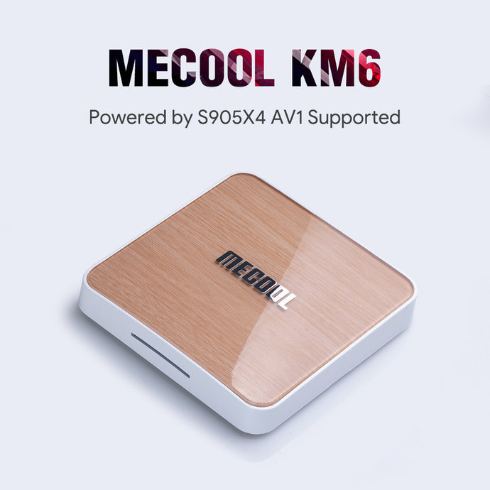 MECOOL KM6 Google Certified Android TV Box comes with S905X4 | 2020 NEW release