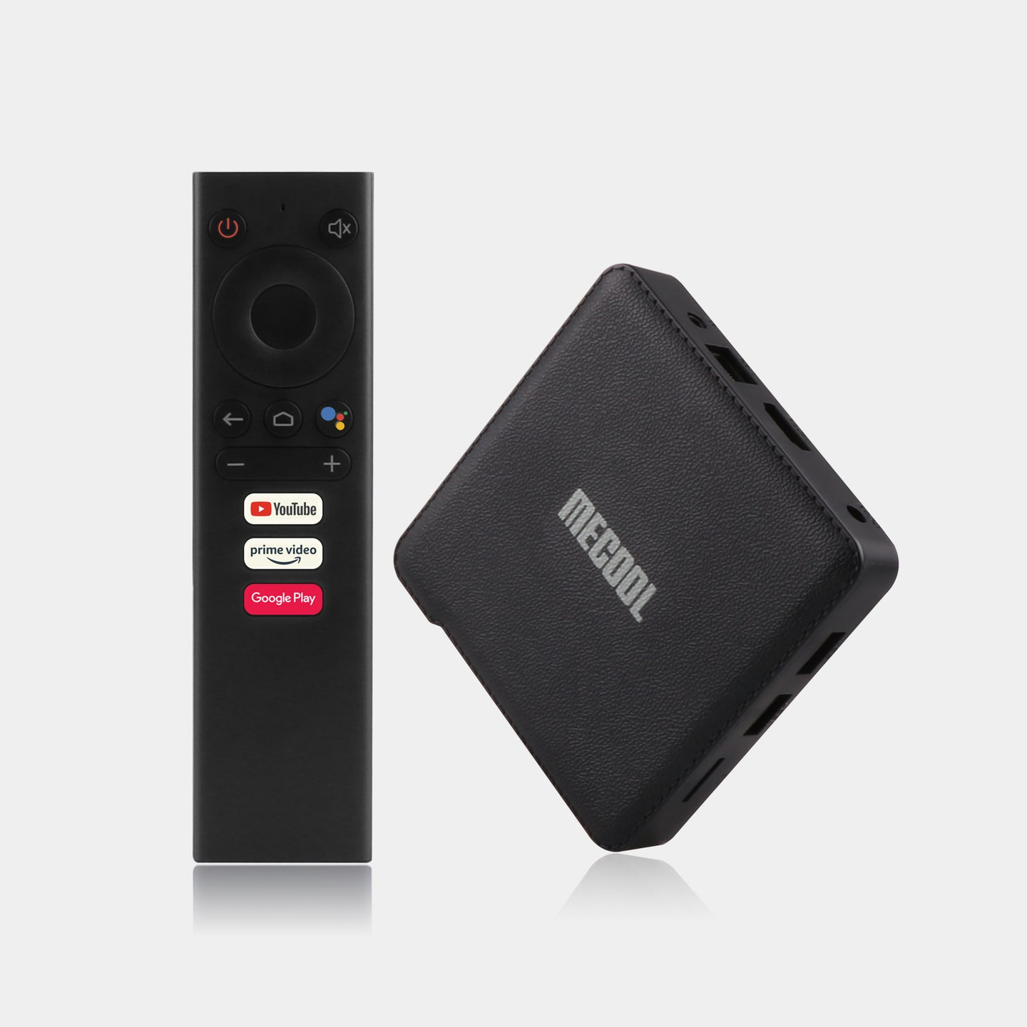 Android tv box  MECOOL km1  2020 Best Google certified smart TV BOX