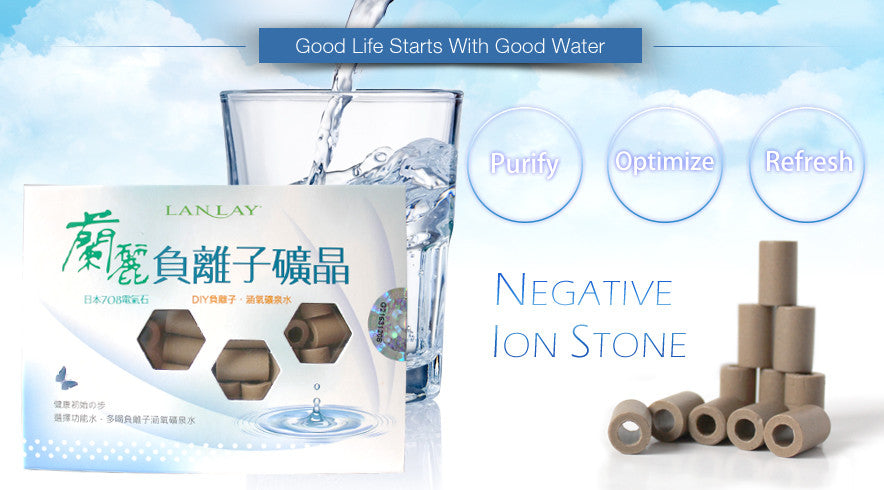 Lanlay-Negative Ion (Anion) Stone